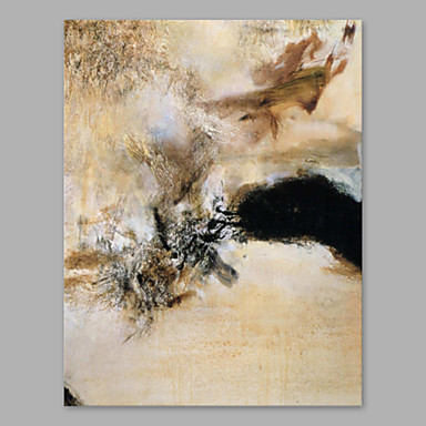 Oil Painting Hand Painted - Abstract Artistic Stretched Canvas