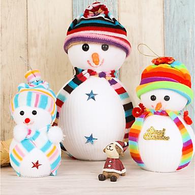 Ünnepi Dekoráció Hóember / Ünneő Holiday Decorations / Díszítések Szabadság 1db / Christmas