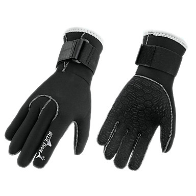 Bluedive Diving Gloves Neoprene / Terylene Handlebar mitts / Mittens Warm, Anti-Wear, Anti-skidding Snorkeling / Diving / Hunting and