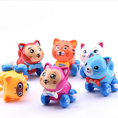 Játékautók Felhúzós játék Fejlesztő játék Kacsa Műanyagok Darabok Gyermek Uniszex Játékok Ajándék