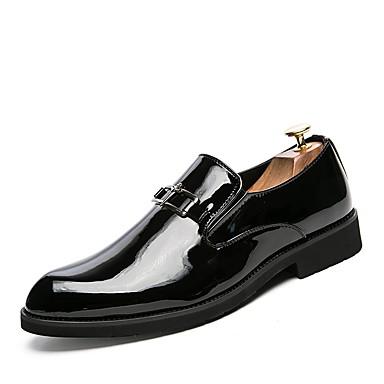 בגדי ריקוד גברים נעליים פורמליות עור אביב / קיץ נעליים פורמלית נעלי אוקספורד שחור / צהוב / כחול