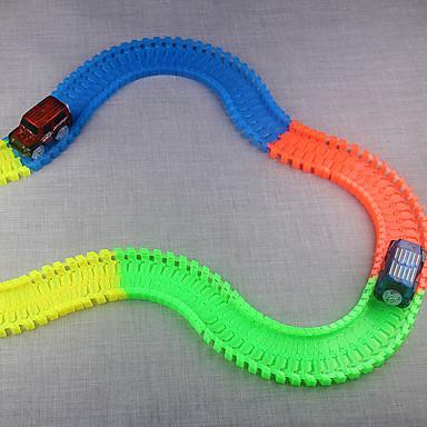 petites voitures circuit de voiture sur rail voiture classique jouets nouveaut phosphorescent. Black Bedroom Furniture Sets. Home Design Ideas