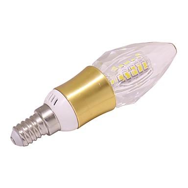 1 db 5 W 460 lm E14 LED gyertyaizzók T 40 led SMD 2835 Meleg fehér Hideg fehér AC 85-265V