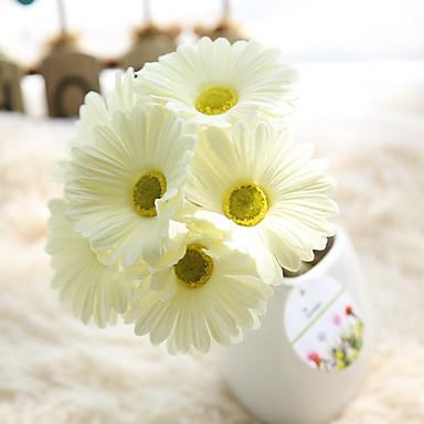 Művirágok 1 Ág Rusztikus Stílus Százszorszépek Asztali virág