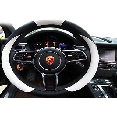 voordelige Auto-interieur accessoires-Autoproducten Auto-stuurhoezen(Leer)Voor Mercedes-Benz BMW Mini Smart Alle jaren S klasse