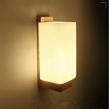 LED / Modern / Contemporary Wall Lamps & Sconces Wood / Bamboo Wall Light 220-240V 3 W / E27