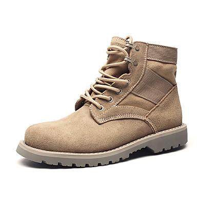 Férfi cipő Nappa Leather Tél Ősz Formai cipő Katonai csizmák Divatos csizmák Hócipők Kényelmes Csizmák Bokacsizmák Fűző mert Work &