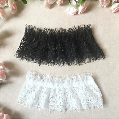 Cotton Lace Leg Warmers Wedding Wedding Garter 617 White Bow Lace Garters Others Wedding Party / Evening