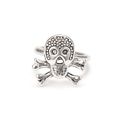 Women's Knuckle Ring - Alloy Skull Personalized One Size Silver For Daily Festival