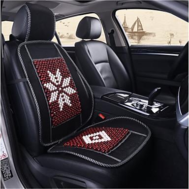 voordelige Auto-interieur accessoires-Autoproducten Stoel hoezen Voor Universeel Alle jaren Auto-stoelhoezen Kunststof Hout