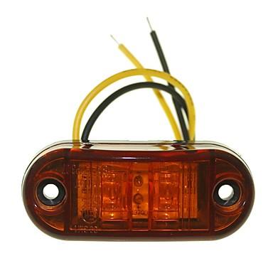 SENCART 10pcs Truck / Motorbicikli / Autó Izzók 1W Dip LED 90lm 2 külső világítás For Univerzalno Minden évjárat