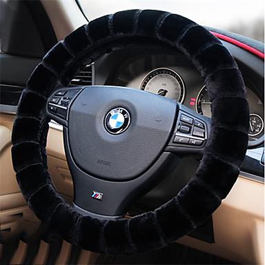 voordelige Auto-interieur accessoires-Auto-stuurhoezen Pluche 38cm Beige / Grijs / Paars Voor Volkswagen Teramont Alle jaren