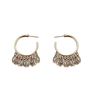 Női Függők - Személyre szabott / Divat Arany / Ezüst Geometric Shape Fülbevaló Kompatibilitás Ajándék / Napi