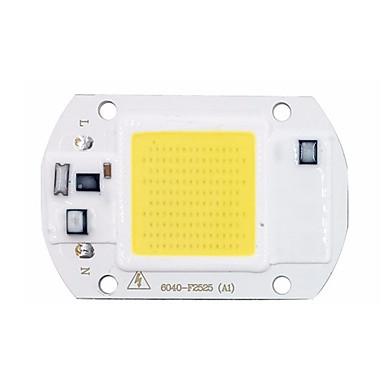 1pç COB 220-240 V Luminoso Chip LED para o diodo emissor de luz holofote da luz de inundação de DIY 20 W