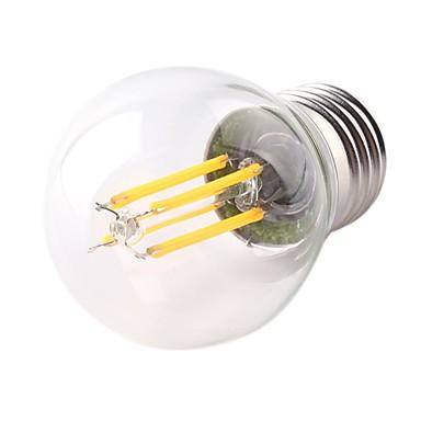 1pc 4W 360lm E26 / E27 נורת להט לד G45 4 LED חרוזים COB Spottivalo דקורטיבי אור LED לבן חם 220-240V