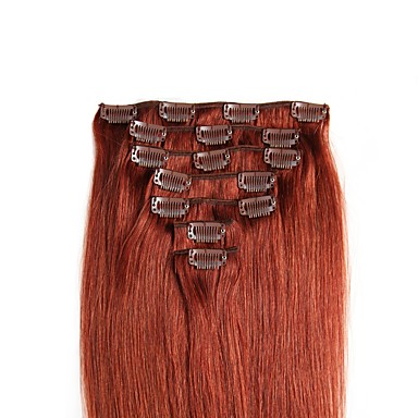 Febay Clip In Human Hair Extensions Straight Human Hair Extensions Human Hair Nano Women's