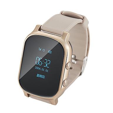 2584c6176 T58 للجنسين الساعات الاطفال Android iOS بلوتوث GPS أب التحكم إسبات الطويل  مكالمات بدون يد لون القهوة تذكرة بالاتصال ساعة منبهة / حساس الجاذبية / > 480