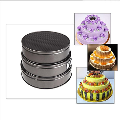 Bakeware tools Metal Alloy For Cake Round Roasting Pans 1pc
