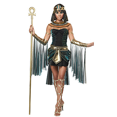 Egyptian Costume Cleopatra Goddess Cosplay Costume Headpiece Party Costume Masquerade Women's Halloween Carnival Festival / Holiday