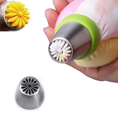 Bakeware eszközök Rozsamentes acél + A ragú ABS Sütés eszköz Mindennapokra süteményformákba 1db