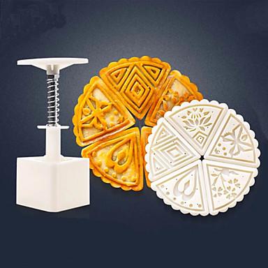 Bakeware eszközök Műanyagok Sütés eszköz / Kreatív Konyha Gadget / Karácsony Palacsinta / Mert főzőedények / Kenyér 6db