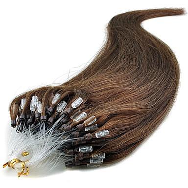 Febay Przedłużenie micro ring Ludzkich włosów rozszerzeniach Klasyczny Doczepy z naturalnych włosów Włosy naturalne Damskie
