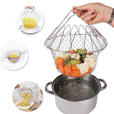 1db konyhai eszközök Rozsdamentes acél Újonnan érkező Szűrők & sziták Mert főzőedények