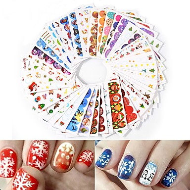 45 pcs Water Transfer Decals nail art Manicure Pedicure Fashion Daily