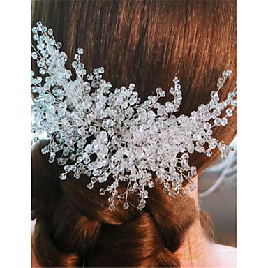 Crystal Alloy Hair Combs 1 Wedding Special Occasion Headpiece