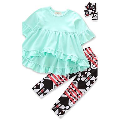 352c1b4d148 Χαμηλού Κόστους Σετ ρούχων για κορίτσια-Νήπιο Κοριτσίστικα Ethnic Style /  Παλτά / Παντελόνια Φούστες