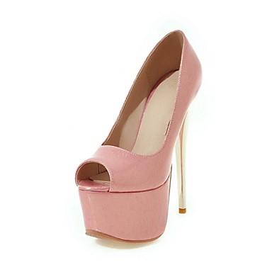 Mariage Amande Similicuir Nouveauté ouvert Sandales Confort Chaussures Noir Femme 06318105 Bout Automne Rose RPpZvxq