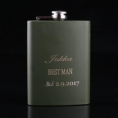 Non-personalized Material Stainless Steel / Iron Others Flask Hip Flasks Bridesmaid Groomsman Party Party / Evening