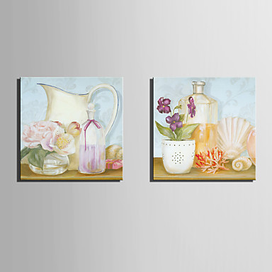 Two Panels Canvas Square Print Wall Decor Home Decoration