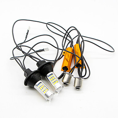 SO.K 2pcs Light Bulbs 5W W SMD 3528 800lm lm 42 Tail Light Foruniversal All years