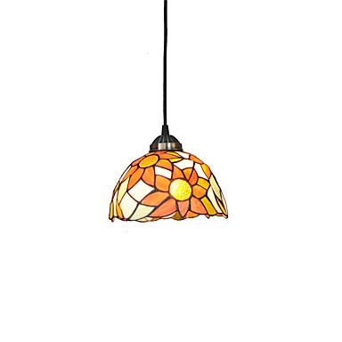 Diameter 20cm Tiffany Pendant Lights Glass Lamp Shade Living Room Bedroom Dining Room Kids Room Light Fixture