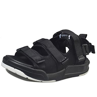 Herren Schuhe PU Frühling Sommer Komfort Sandalen Für Normal Schwarz