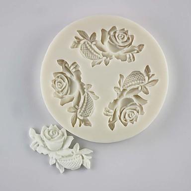 Bakeware eszközök Szilikongumi / Silica Gel / Szilikon Nem tapad / Sütés eszköz / 3D Keksz / Csokoládé / Mert főzőedények süteményformákba 1db