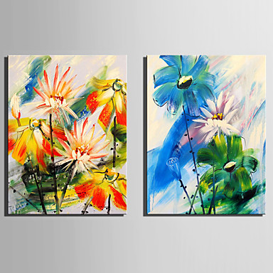 Two Panels Canvas Vertical Print Wall Decor Home Decoration