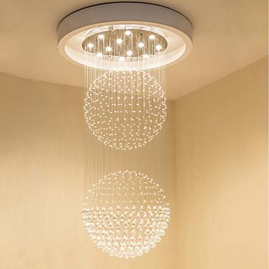 Chandelier Downlight - Crystal, Bulb Included, Designers, 110-120V / 220-240V Bulb Included / GU10 / 10-15㎡