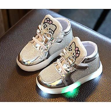 povoljno Dječje cipele-Djevojčice PU Sneakers Mala djeca (4-7s) Udobne cipele Pink / Fuksija / Pink Jesen / Zima