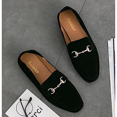 Mocassins Femme Noir Printemps et Verni D6148 Escarpin Automne Cuir Chair Chaussons Chaussures 06299390 Basique Confort r87qn8Ht