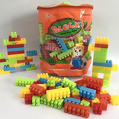 hesapli Oyuncaklar ve Oyunlar-Legolar 320 pcs Karikatür / Aile / Hayvan El Çantaları / Karikatür Oyuncak / Karton Dizayn Sırt Çantası Genç Erkek Hediye