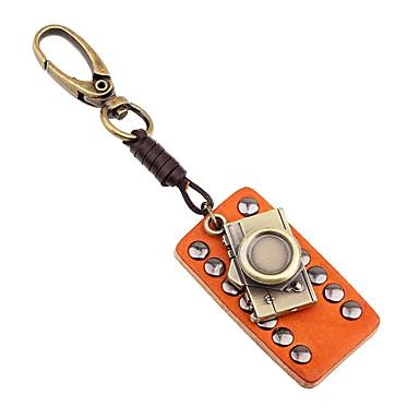 Łańcuszek do kluczy Biżuteria Orange Nieregularny Skórzany Stop Nowoczesne Gotyckie Wyjściowe Szkoła Męskie