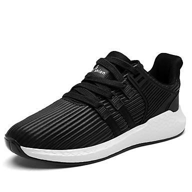 בגדי ריקוד גברים נעלי נוחות טול אביב / קיץ נעלי ספורט שחור / אפור / בָּחוּץ