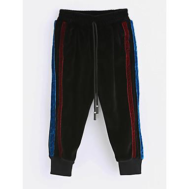 Brzdąc Dla chłopców Prążki Bawełna Spodnie