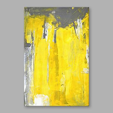 Ręcznie malowane Streszczenie Pionowy, Nowoczesny Brezentowy Hang-Malowane obraz olejny Dekoracja domowa Jeden panel