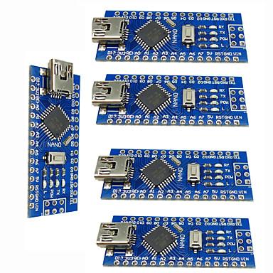 Nano v3.0 atmega328p melhora as placas controladoras para arduino (5 pcs)