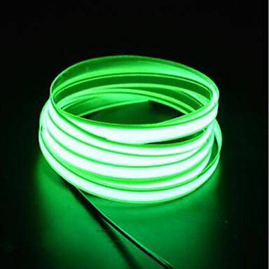 billige LED Strip Lamper-brelong 1 stk 3m lysstreng 0led dc12v el hvit / rød / blå / rosa / grønn / oransje / lyseblå