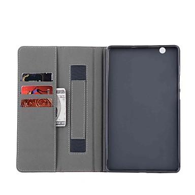 Kılıf Na Huawei Pełne etui / Etui na tablety Solidne kolory Twardość Skóra PU na Huawei MediaPad M3 Lite 8(CPN-W09, CPN-AL00