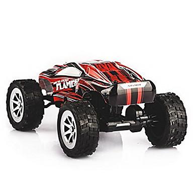 RC samochodów WL Toys A999 2,4G 4WD Wysoka prędkość Drift Car Samochód Samochód Terenowy 1:24 KM / H Pilot zdalnego sterowania Akumulator